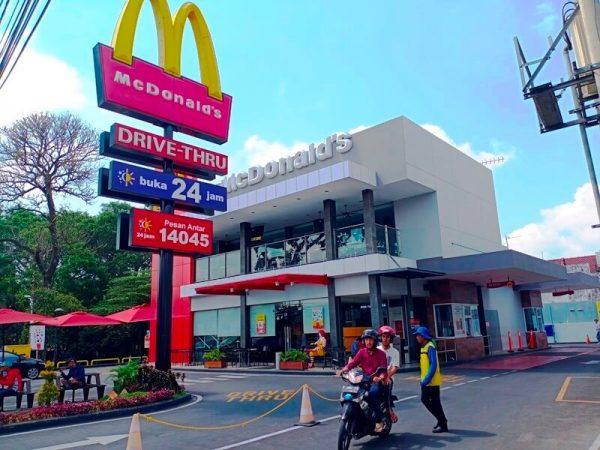 Mc Donald MT Haryono Malang, kuliner halal malang, kuliner malang