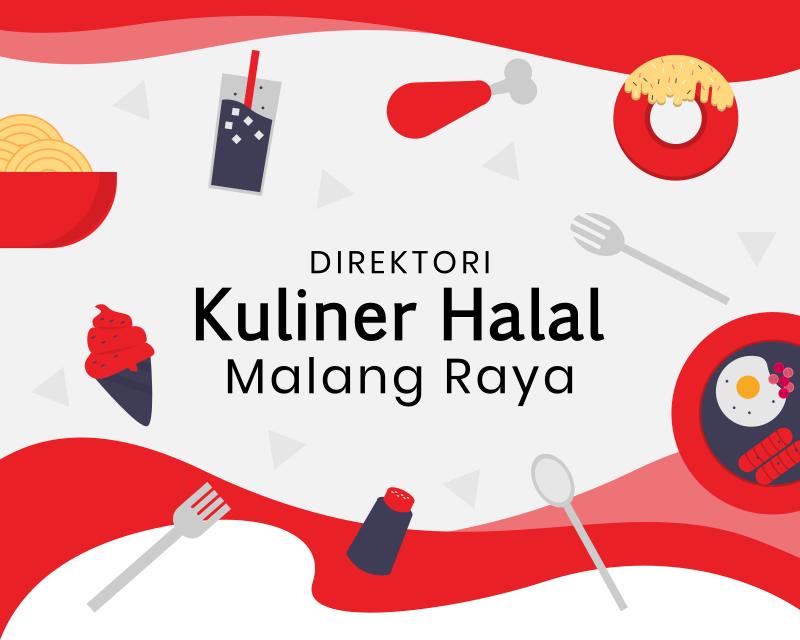 Banner Kuliner Halal Malang digitalica.id Logo Kuliner Malang