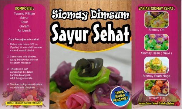 siomay dimsum sayur sehat kuliner halal malang kuliner malang